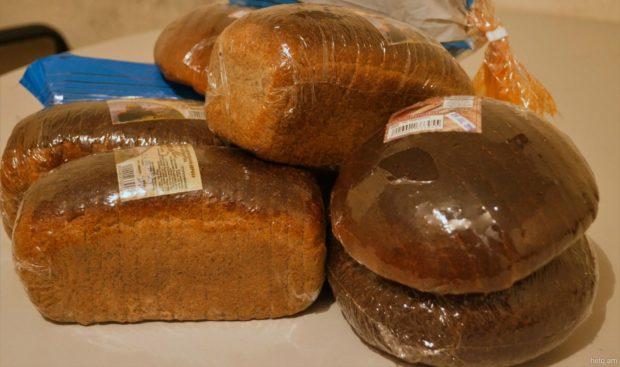 Ржаной хлеб в упаковке
