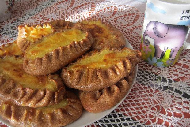 Ржаные калитки с картофелем