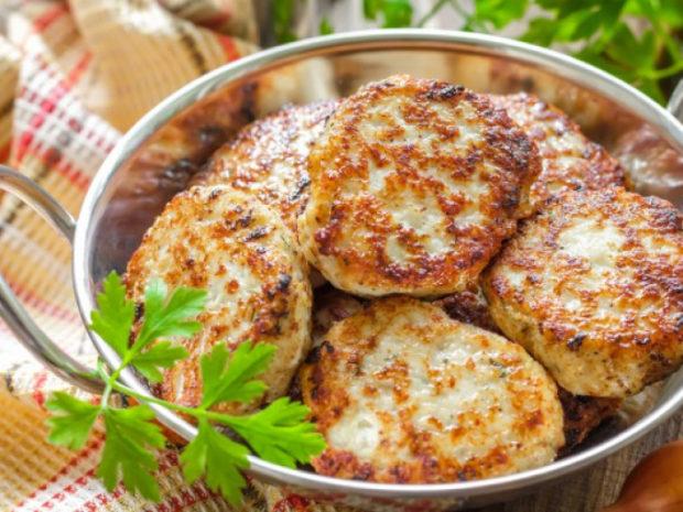 Гречневые котлеты с картофелем