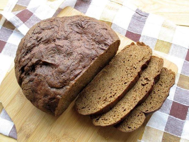 Готовый ржаной хлеб из мультиварки