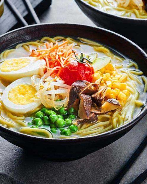 Вегетарианский суп Рамэн