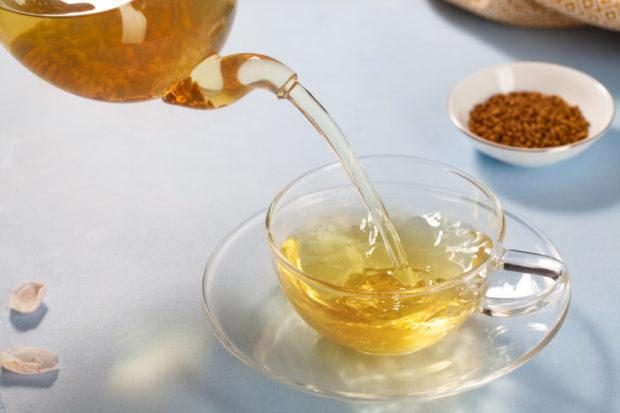 Заваривание гречишного чая