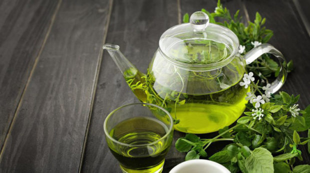 Зеленый чай на гречневой диете